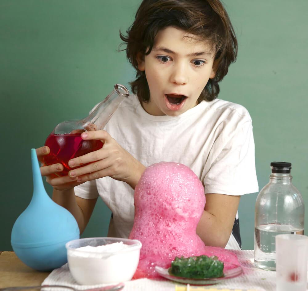химические опыты для детей в домашних условиях