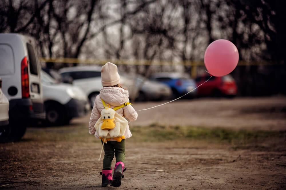 ребенок потерялся