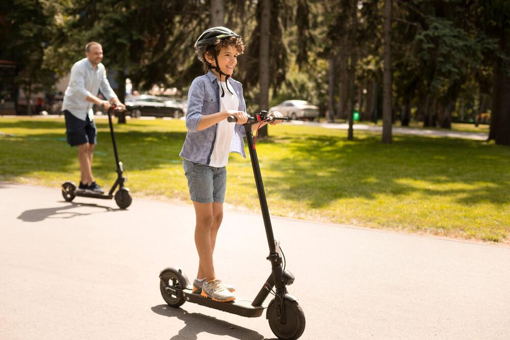 электросамокат с большими колесами взрослый