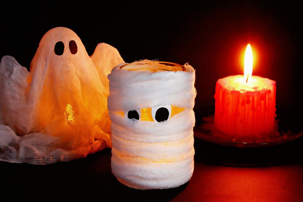 легкие поделки на хэллоуин