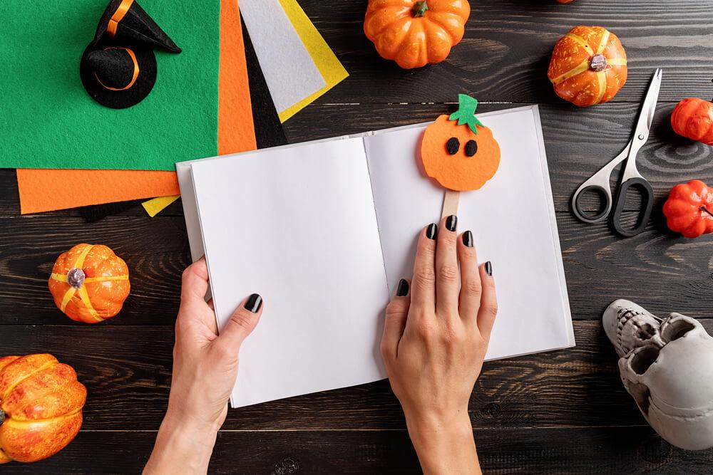 поделки на хэллоуин своими руками для детей